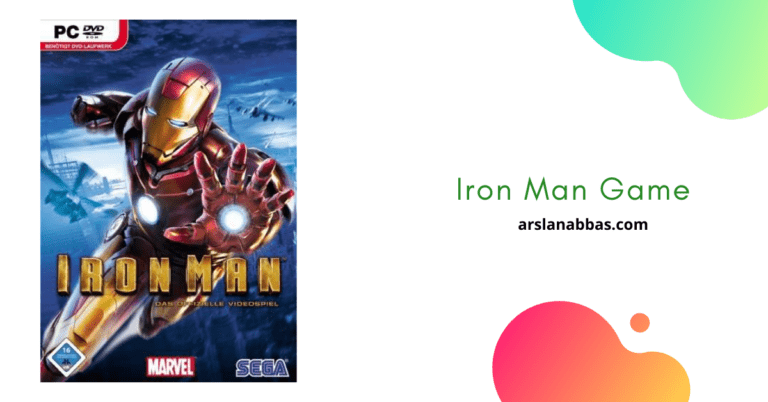 Iron Man Game Download for PC
